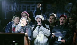 Zaprotestowali tuż przed inauguracją