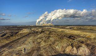 Elektrownia w Bełchatowie - największy emitent CO2 w Europie.