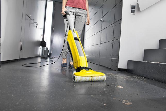 Sprzątanie nie zawsze było czynnością prostą i szybką