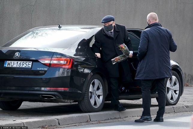Jarosław Kaczyński w Niedzielę Palmową