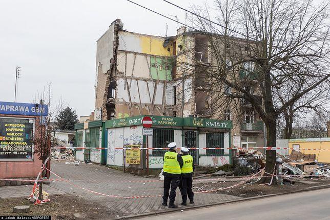 Poznań. Wybuch w kamienicy na Dębcu