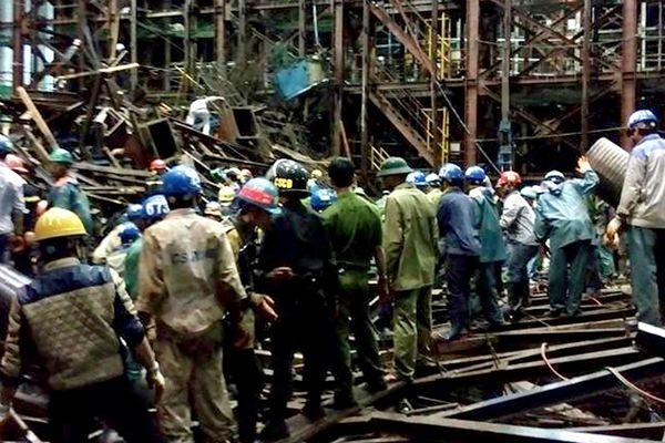14 osób zginęło w Wietnamie wskutek zawalenia się rusztowania