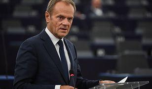 Donald Tusk skomentował wypowiedź ministra Wójcika. Padło mocne słowo