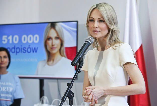 Magdalena Ogórek: nie wyskakujmy z szabelką na Rosję