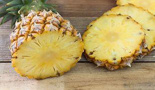 Ananas - słodki owoc na odchudzanie i na zdrowie