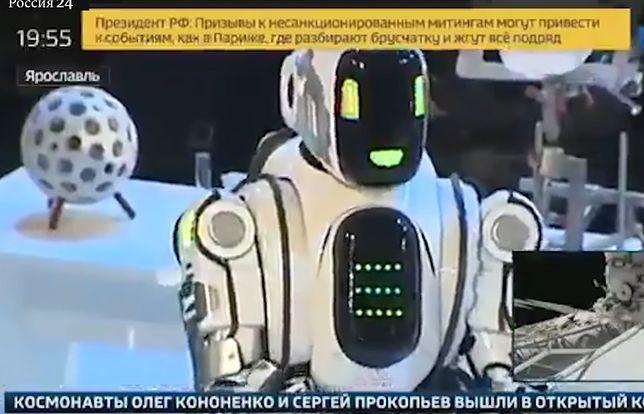 Rosyjski robot zachwycił umiejętnościami. Tylko... to nie był robot