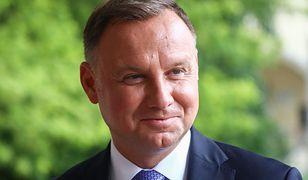 Andrzej Duda miał wypadek na wakacjach. Przewrócił się na skuterze wodnym