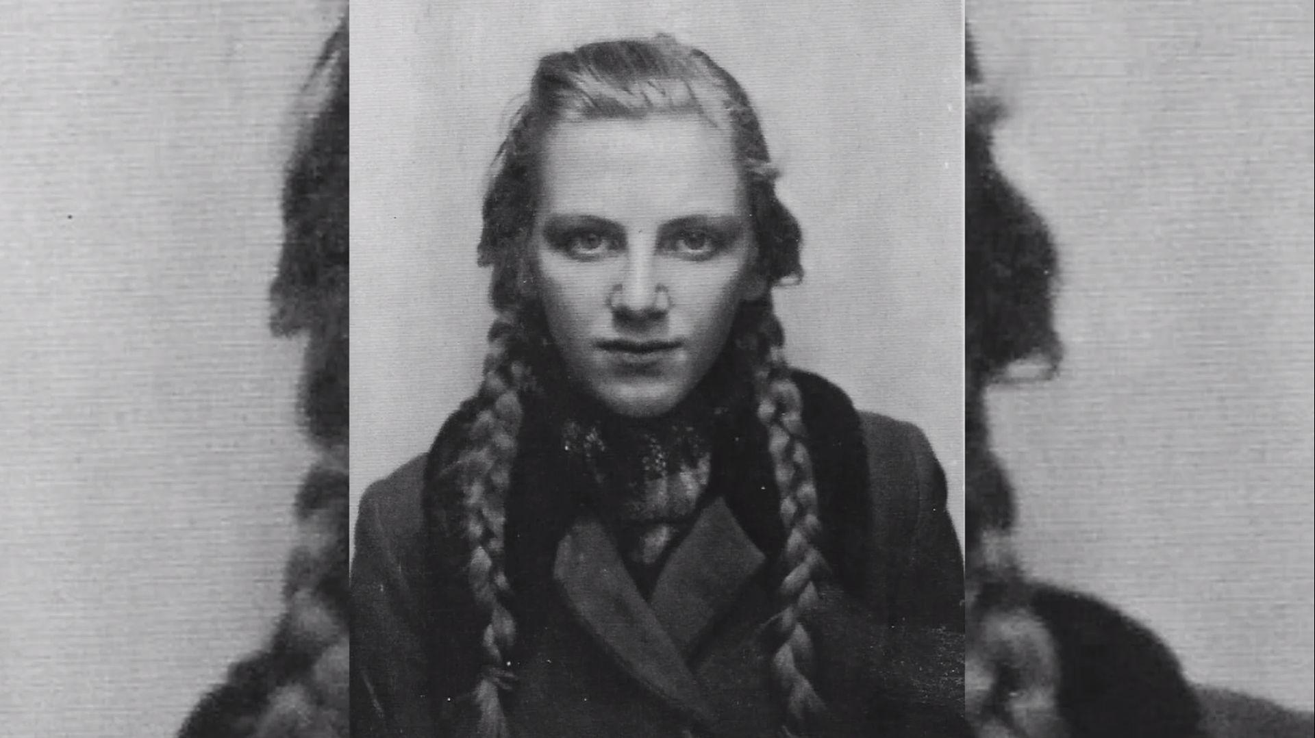 Ingeborg Hoppe, później von Westermann, jako młoda dziewczyna