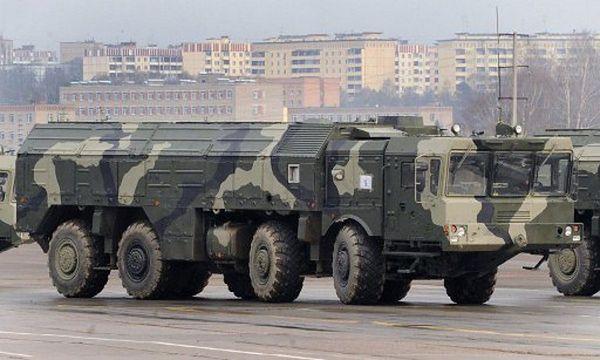 Wyrzutnia pocisków balistycznych Iskander