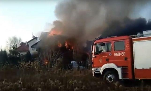 Tragiczny pożar. Ewakuowano kilkanaście osób, jedna nie przeżyła