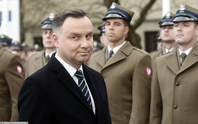Prezydent Andrzej Duda jest krytykowany za swoje słowa o sędziach