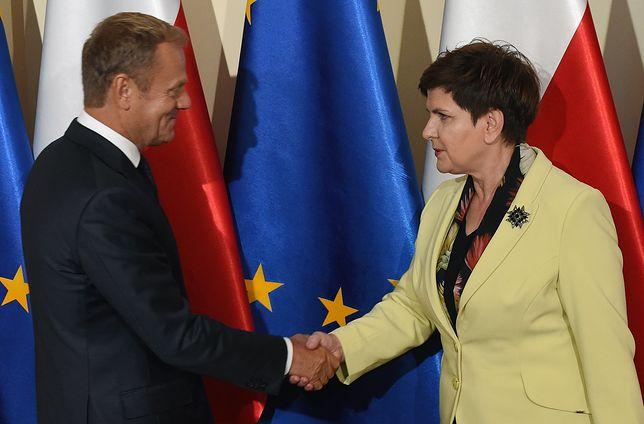 Porównali zaufanie do rządów PiS i PO. Beata Szydło lepsza od Donalda Tuska