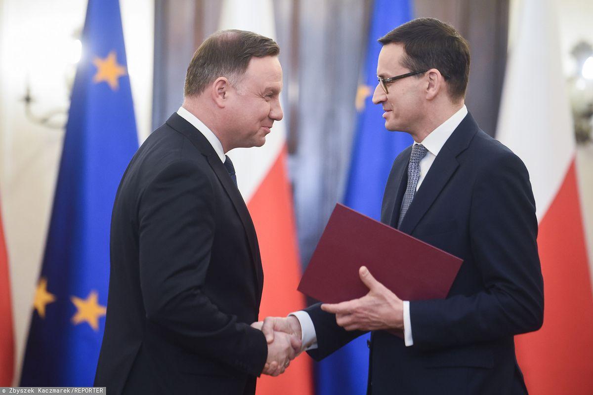 Zaprzysiężenie rządu. Mateusz Morawiecki w Pałacu Prezydenckim