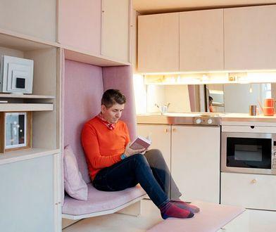 13-metrowe mieszkanie. Nie jest szafą i da się w nim żyć!