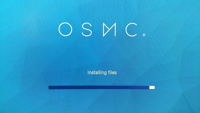 OSMC - pierwsze uruchomienie