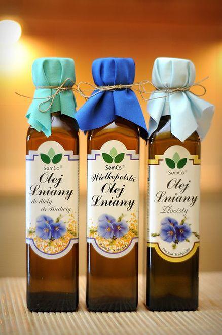 Od wieków leczy - olej lniany