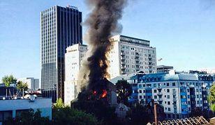 """Ktoś podpala budynki przy Łuckiej. """"To już dziewiąty raz"""""""