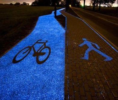 Świecące ścieżki rowerowe w Warszawie? Projekt robi wrażenie