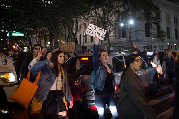 Ponad połowa aresztowanych przeciwników Trumpa z Portland nie głosowała