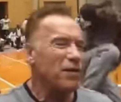 Arnold Schwarzenegger niczego się nie spodziewał. Zdarzenie trwało kilka sekund