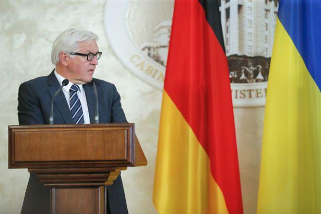 Szef niemieckiej dyplomacji: Ukraina potrzebuje międzynarodowego wsparcia reform