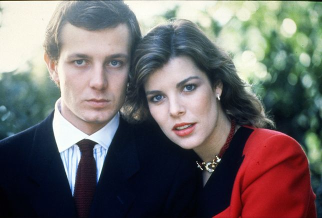 Stefano Casiraghi i księżniczka Karolina