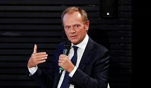 Donald Tusk ostro o Trumpie i Kaczyńskim
