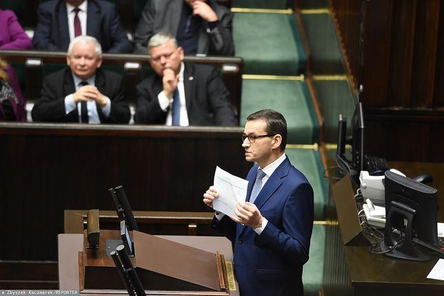 Sejm. Mateusz Morawiecki wkrótce wygłosi expose