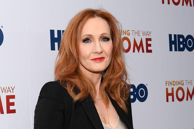J.K. Rowling od kilku dni jest ostro krytykowana za wpis na Twitterze