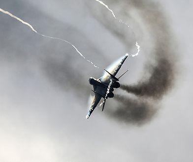 Pilot MiG-a po lądowaniu zemdlał i trafił do szpitala. Po pół roku wciąż nie wrócił do służby