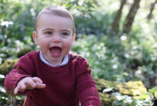 Książę Louis kończy roczek