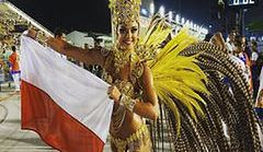 Piękna Polka tańczy w Rio