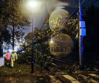 Radar burz. Wichura nad centralną Polską