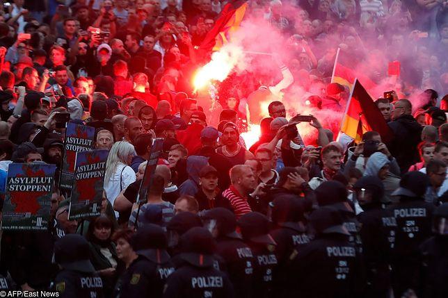 Wschodnioniemieckie Chemnitz było miejscem antyimigranckich zamieszek