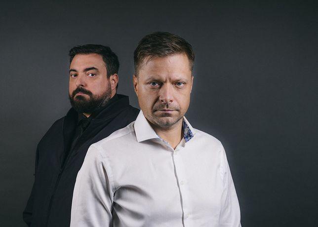 """Zwycięzcy Youtube Rewind 2019: Tomasz Sekielski i Marek Sekielski, autorzy głośnego dokumentu pt. """"Tylko nie mów nikomu""""."""