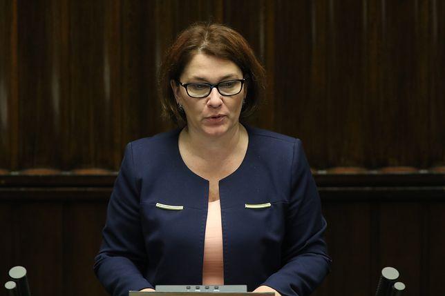 Beata Mazurek ostro odpowiedziała Grzegorzowi Schetynie