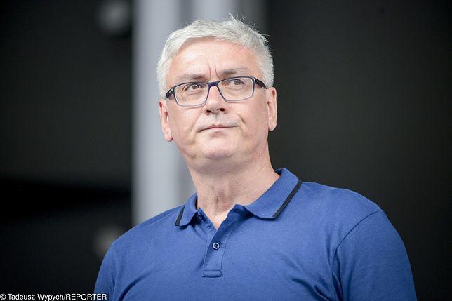 """Artur Orzech grał w rockowym zespole """"Róże Europy""""."""
