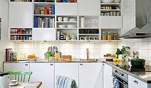Funkcjonalna kuchnia w stylu skandynawskim. Zdjęcia przytulnych kuchni skandynawskich