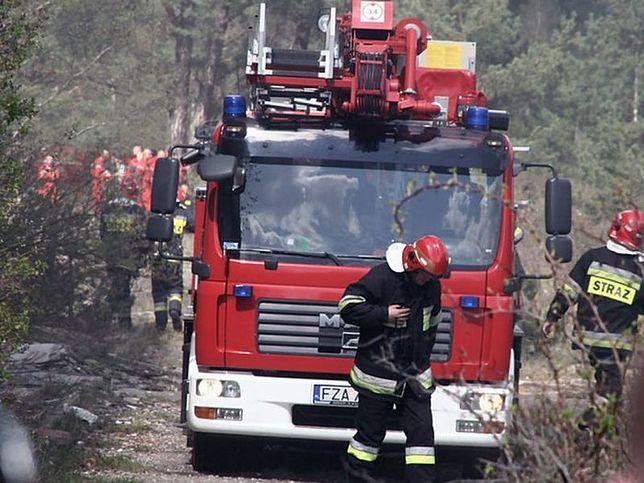Pożar w Rembertowie. Trzy osoby nie żyją!