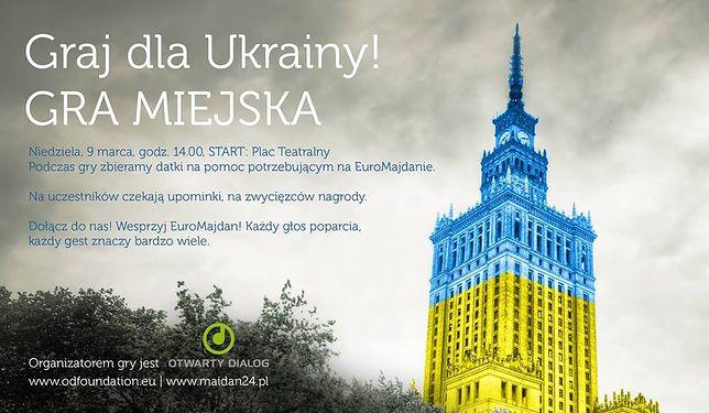 "Gra miejska ""Graj dla Ukrainy"""