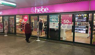 Hebe ma 216 sklepów stacjonarnych