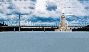 Most przez jezioro Tałty niemal dorówna wysokością Pałacowi Kultury.