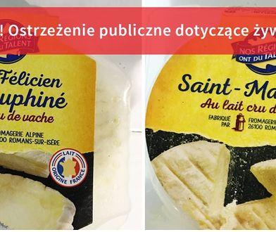 Tak wyglądają sery, które mogą być zanieczyszczone bakterią E.coli