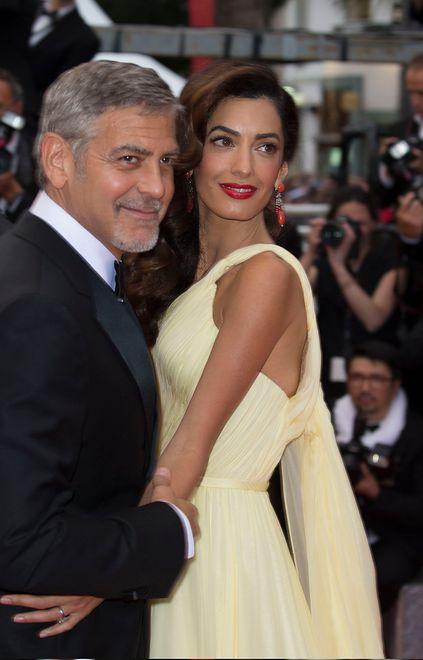 George i Amal Clooney zostali rodzicami! Para powitała córkę Ellę i syna Alexandra