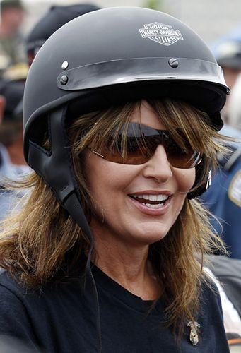 Pani polityk na motorze - zobacz zdjęcia