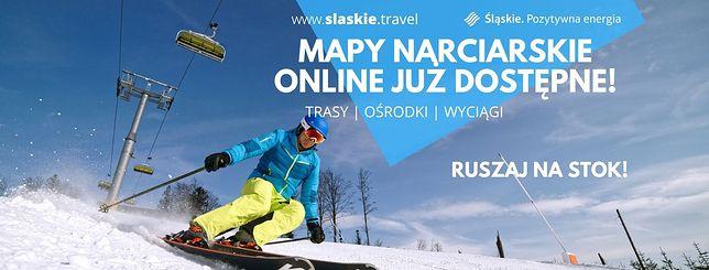 Beskidy. Śląska Organizacja Turystyczna wydała specjalną mapę dla narciarzy.