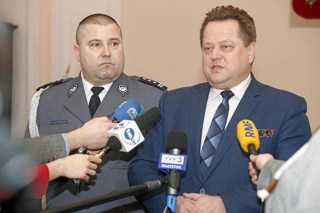 Daniel Kołnierowicz to zaufany człowiek wiceszefa MSWiA Jarosława Zielińskiego