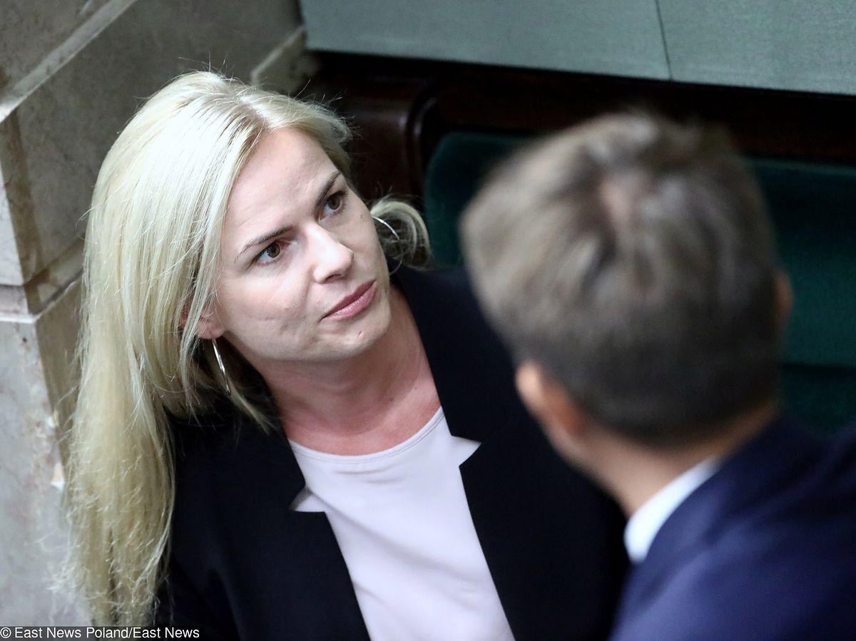 Policja złoży do marszałka Sejmu wniosek o zgodę na ściganie posłanki Joanny Schmidt