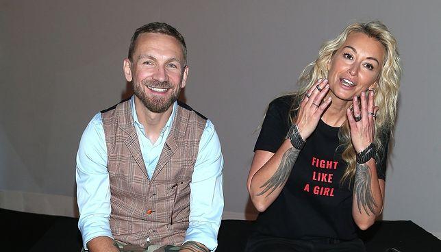 Wojciech Kossakowski i Martyna Wojciechowska