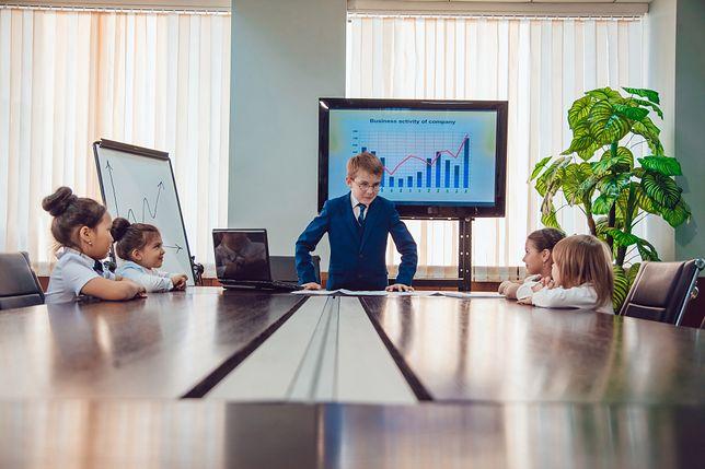 Przygotowanie do korporacyjnego życia. Kurs managerski dla 8-latków